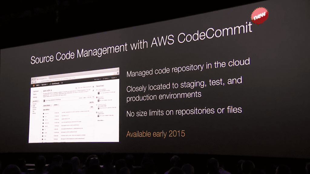 re:Invent 2014: 11/12 キーノート (7) AWS CodeCommit