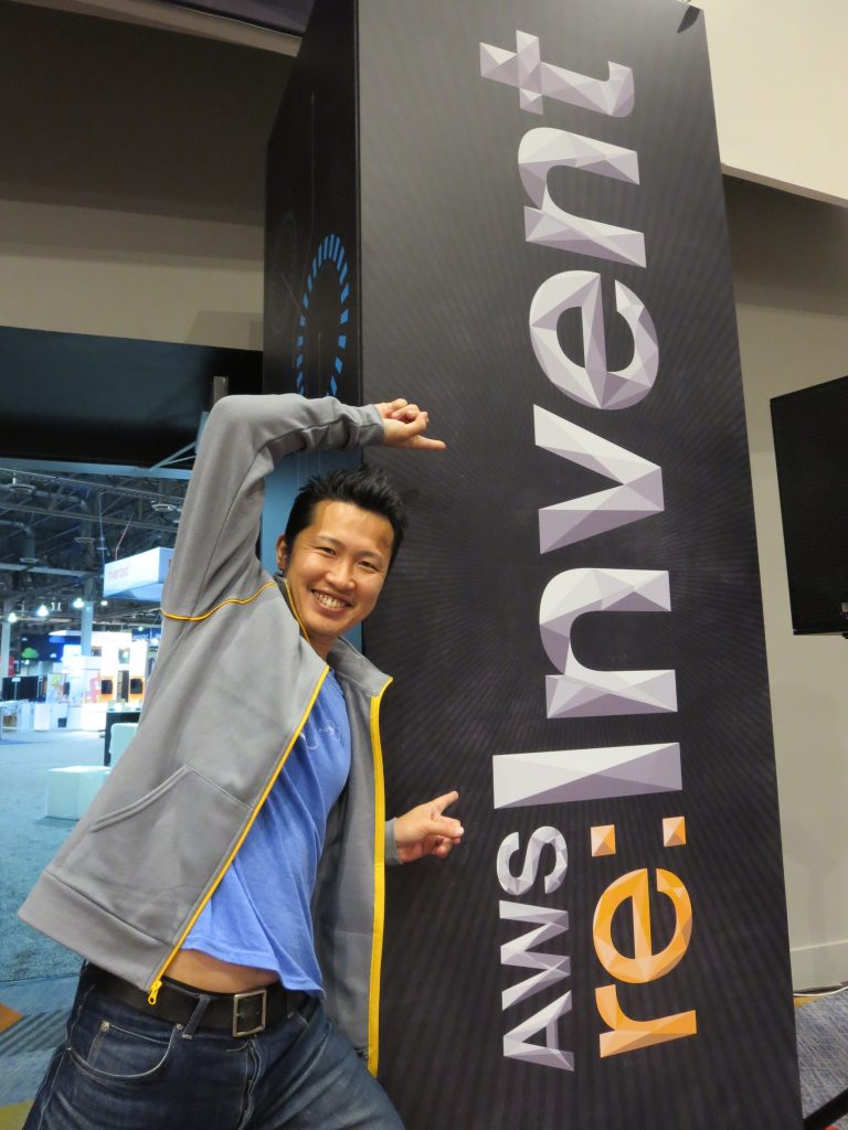 AWS re:Invent 2014 現地リポート 第1弾: re:Inventと弊社エバンジェリスト吉田真吾さん