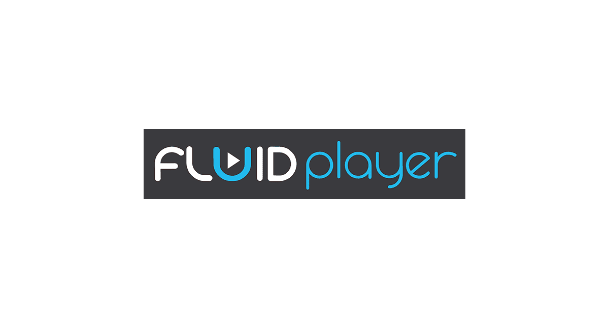 Fluid player: JavaScript open sources media playerの使用法